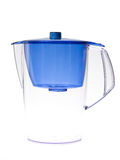 Clear water filter pitcher Stock Photos