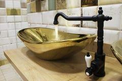 Luxury sink royalty free stock photo