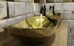 Luxury sink royalty free stock images