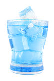 Clear water in glass Royalty Free Stock Photos