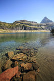 Clear Water of Hidden Lake, Glacier National Park Royalty Free Stock Photography