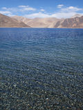 Clear water in Himalaya mountains Stock Image