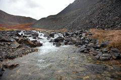 Free Clear Water In The Rugged Mountain River Royalty Free Stock Photography - 29004887
