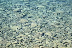 Clear water in the Ionian Sea. Stock Image