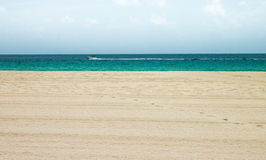 Clear water in Miami Beach 3. Royalty Free Stock Photo