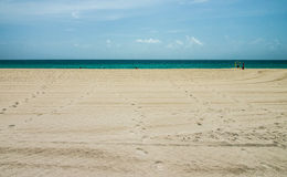 Clear water in Miami Beach. Stock Photography