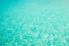 Clear water Ocean Blue for background Royalty Free Stock Image