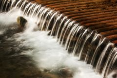 Free Clear Water Of A Mountain River In A Cascade Waterfall In The Carpathians. Concept - Environmental Protection And Stock Image - 157593611
