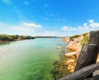 Clear water in Porto Cervo Stock Photo