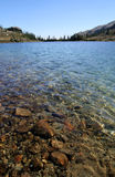 Clear Water of Ring Lake. British Columbia. Canada Royalty Free Stock Images
