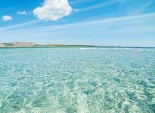 Clear water in Sardinia Stock Photos
