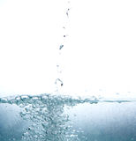 Clear water splash Stock Photography