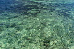 Clear water surface of Tao Island, Thailand Royalty Free Stock Photography