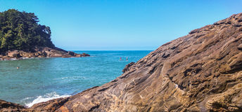 Clear water in Trindade. Royalty Free Stock Images