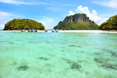 Clear water, Tropical beach, Andaman Sea Stock Photo