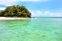 Clear water, Tropical beach, Andaman Sea, Thailand Royalty Free Stock Photo