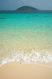Clear water and white sand at Similan island Royalty Free Stock Image
