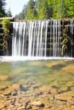 Clear waterfall Royalty Free Stock Photo