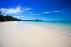 Clear waters of the Andaman sea Stock Photography