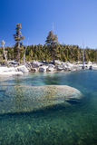 Clear Waters of Lake Aloha in Desolation Wilderness Royalty Free Stock Photos