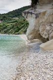 Clear waters of marathia beach at Zakynthos island, Stock Photography