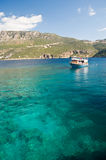 Clear waters of the Mediterranean Stock Photography
