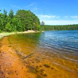 Clear Waters of Northwoods Wisconsin Royalty Free Stock Image