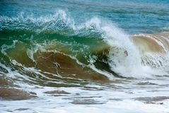 Clear Wave Royalty Free Stock Images