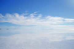 Clear and White Clouds on Sky Stock Photos
