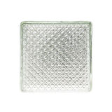 Clear white Glass wall surface texture Royalty Free Stock Photos