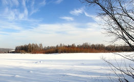Clear winter day Stock Photography