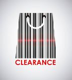 Clearance design Royalty Free Stock Images