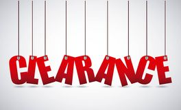 Clearance design Stock Images