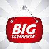 Clearance design Royalty Free Stock Photography