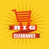 Clearance design Stock Photo