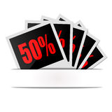 Clearance discount interest Royalty Free Stock Photos