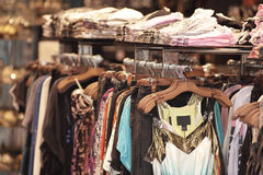 Clearance rack Stock Photos