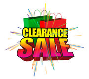 Clearance sale Stock Images