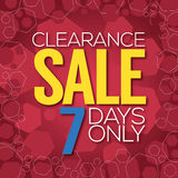 Clearance Sale Background. Stock Images