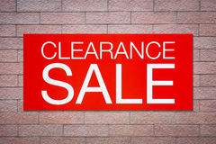 Free Clearance Sale Billboard Stock Photos - 75136273