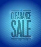 Clearance sale concept illustration design Stock Images