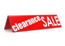 Clearance sale royalty free illustration