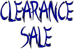 Clearance Sale sign Royalty Free Stock Image