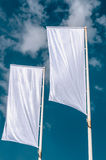 Cleared flags Royalty Free Stock Images