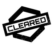 Cleared rubber stamp. Grunge design with dust scratches. Effects can be easily removed for a clean, crisp look. Color is easily changed royalty free illustration