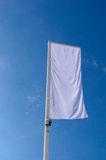 Cleared white banner Stock Photography