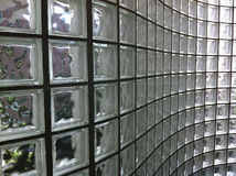 ClearGlass Block Royalty Free Stock Photos