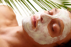 Clearing skin Stock Image