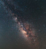 Clearly milky way Royalty Free Stock Photo