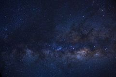 Clearly milky way galaxy with stars and space dust in the univer. Se Stock Image